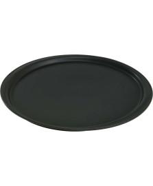 Forma para pizza preta 35 cm ceraflame