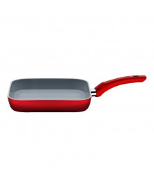 Frigideira 26 x 26 cm vermelha infinity brinox