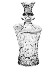 Garrafa para whisky 700 ml patriot cristal bohemia