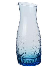Garrafa vidro avignon 1,5 lt turquesa quadrifoglio