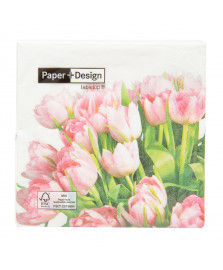 Guardanapo de papel tulip time 20 uni paper + design