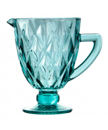 Jarra de vidro 1l diamante tiffany class home