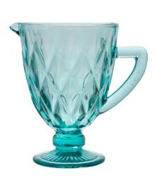 Jarra de vidro diamond verde água 1 litro lyor