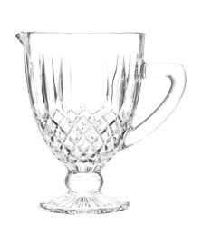 Jarra de vidro greek transparente 1 litro bon gourmet