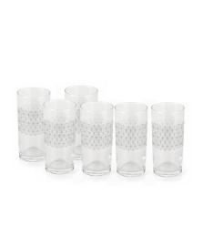 Jogo 06 copos vidro link forma