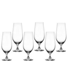 Jogo 06 taças cerveja 380 ml cristal anna bohemia