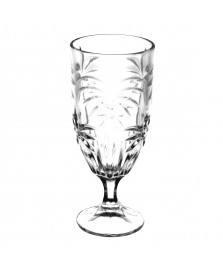 Jogo 06 taças de cristal de chumbo palm tree 450 ml wolff