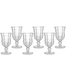 Jogo 06 taças vinho branco knot clear bon gourmet