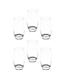 Jogo 6 copos altos barrel 500 ml vidro pasabahçe