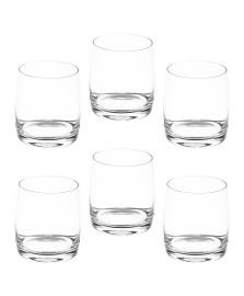 Jogo 6 copos baixos de cristal ecológico ideal 330 ml bohemia style