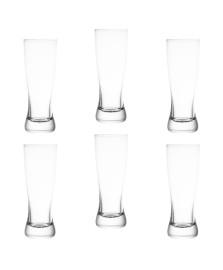 Jogo 6 copos para cerveja catarinense 210ml crystalite bohemia