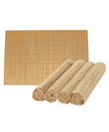 Jogo americano em bamboo 30 x 45 cm mimo