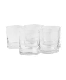 Jogo de 06 copos whisky 320 ml barware bohemia