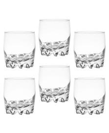 Jogo de copos para whisky sylvana vidro 300 ml 6 peças pasabahçe