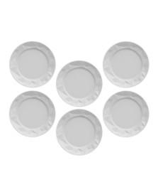 Jogo 06 pratos para sobremesa edros germer