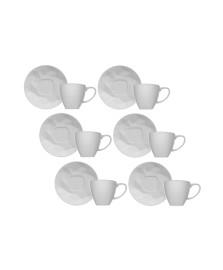 Jogo 06 xícaras para café edros germer