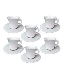 Jogo 06  xícaras para chá lady germer