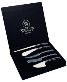 Jogo de facas para queijos 05 peças wolff