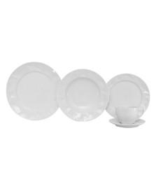 Jogo de jantar 20 peças edros porcelana germer porcelanas