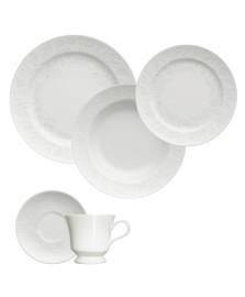 Jogo de jantar 20 peças porcelana folk germer