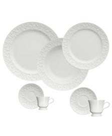 Jogo de jantar 42 peças porcelana tassel germer