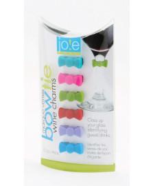 Jogo de marcadores de taças silicone gravata