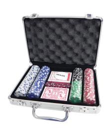 Jogo de poker profissional 200 fichas