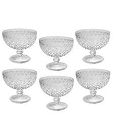 Jogo 06 taças sobremesa verre transparente mimo