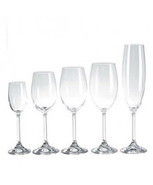 Jogo de 30 taças em cristal for your home bohemia
