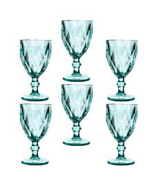 Jogo de taças água diamante tiffany class home