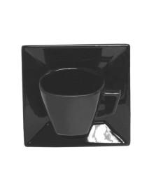 Jogo de 6 xícaras para chá quartier black oxford