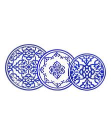 Jogo jantar 18 peças turkish delight l hermitage