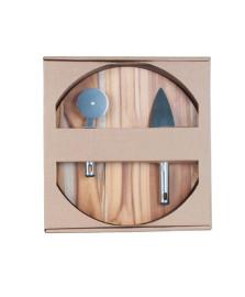 Kit para pizza 03 peças wood designs