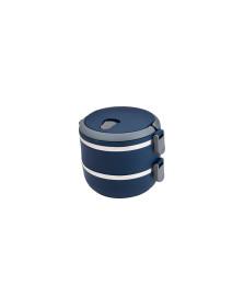 Marmita lunch box azul euro