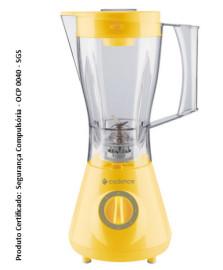Liquidificador colors amarelo 127 v ocp 0040 - sgs