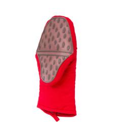 Luva jacaré longa silicone e algodão vermelha