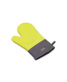 Luva térmica de silicone amarela lyor