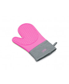 Luva térmica de silicone rosa lyor
