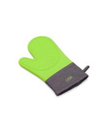 Luva termica de silicone verde lyor
