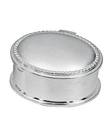 Mini porta jóias oval 5,5 cm prestige