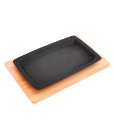 Mix grill retangular 18 x 28 cm kort domama