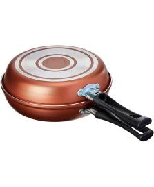 Omeleteira 18 cm cobre clove brinox