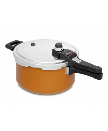 Panela de pressão 04.5 l eterna laranja nigro