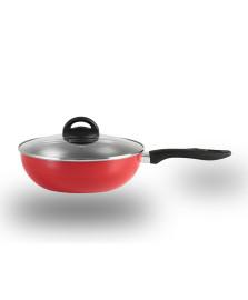 Panela wok 28 cm chilli vermelha brinox