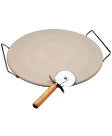 Pedra para pizza 33 cm bon gourmet
