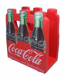 Porta guardanapo pack 14 cm coca-cola