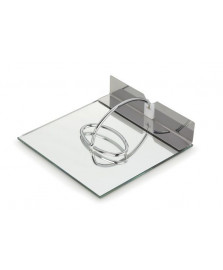 Porta guardanapos slim 180 x 180mm espelho forma