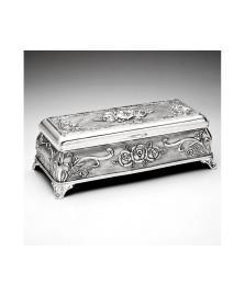 Porta jóia zamac 18 x 08 cm prestige