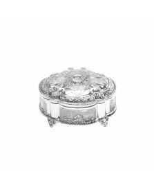 Porta jóias oval 8.5x6.5 cm zamac prestige