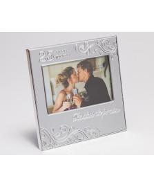 Porta retrato 10 x 15 cm bodas de prata prestige